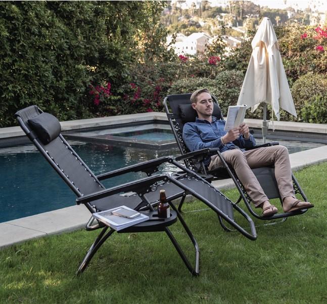 Ανακλινόμενη καρέκλα αλουμινίου